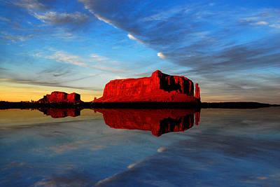 Photograph - Desert Mirror by Harry Spitz
