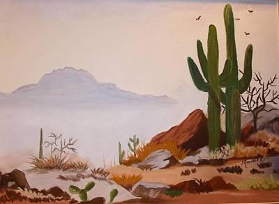 Desert Mist Art Print