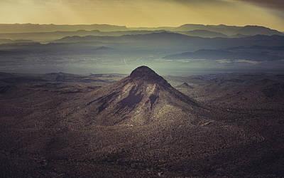 Photograph - Desert Mountains by Bradley Rasmussen