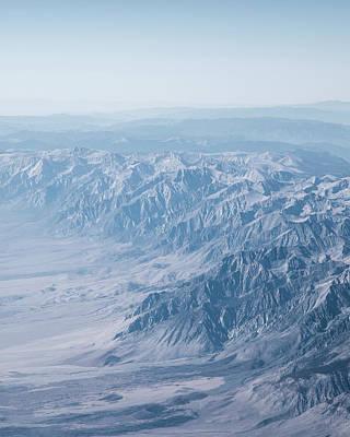 Photograph - Desert Mountains by Jakob Dahlin