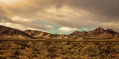 Photograph - Desert Mountains by Peter Tellone