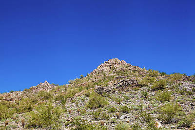 Photograph - Desert Mountaintop by Ed Cilley