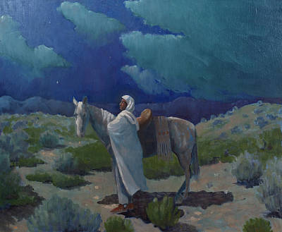 Western Themed Painting - Desert Mystic  by Richard La Motte