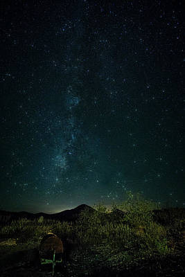 Photograph - Desert Night Skies  by Saija Lehtonen