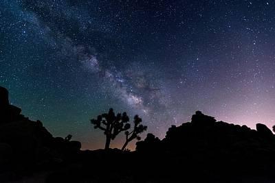 Desert Night Sky Art Print