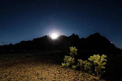 Photograph - Desert Nightfall by Margaret Pitcher