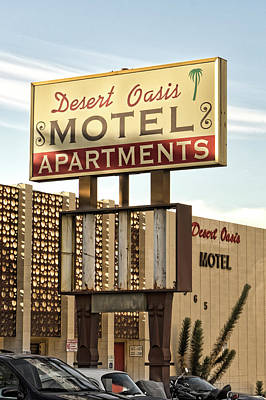 Photograph - Desert Oasis Motel by Sharon Popek