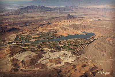 Photograph - Desert Oasis Near Las Vegas by Kathy M Krause