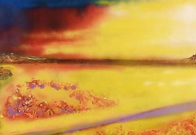 Mystic Desert Painting - Desert Of Treasures by Nandor Molnar