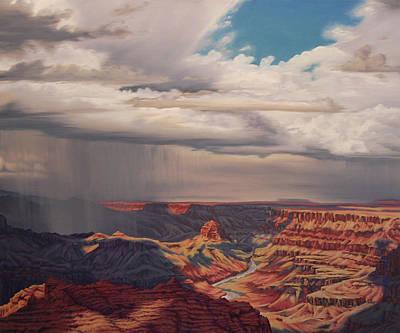Painting - Desert Palisades by Cheryl Fecht