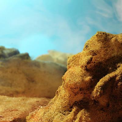 Photograph - Desert Plateaus by Stephen Dorsett