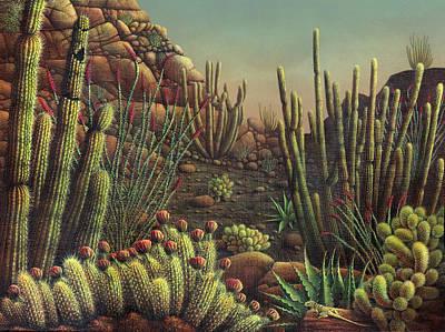 Desert Potpourri  Art Print