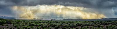 Photograph - Desert Rain by James Barber