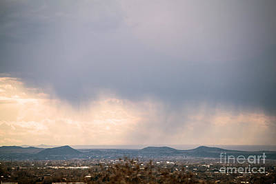 Urban Abstracts - Desert Rain by Roselynne Broussard