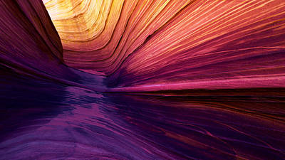 Nature Abstracts Photograph - Desert Rainbow by Chad Dutson