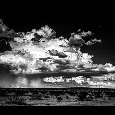 Fineart Wall Art - Photograph - Desert Rainstorm In Southern by Alex Snay