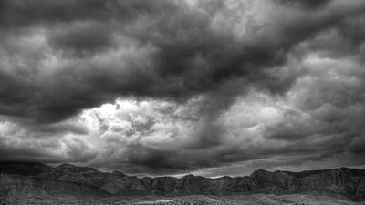 Photograph - Desert Range by Robert Melvin