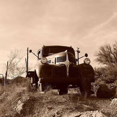 Photograph - Desert Rat Flatbed by Bill Tomsa