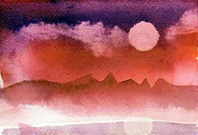 Painting - Desert Reflection by Anne Duke