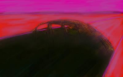 Painting - Desert Relic by Jim Vance