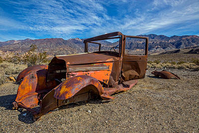 Old West Photograph - Desert Relic by Peter Tellone