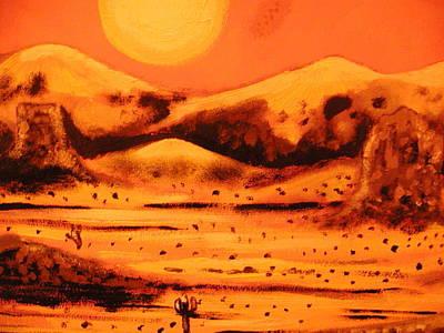 Painting - Desert by Ricardo Reis