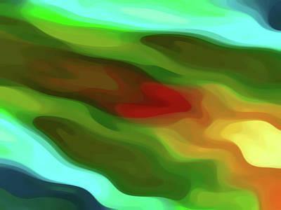 Digital Art - Desert River Flows Through My Heart by Amy Vangsgard
