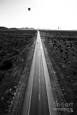 Desert Road Art Print by Scott Pellegrin