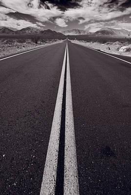 Desert Road Trip B W Original