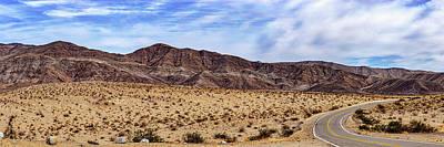 Photograph - Desert Roads 2 by Peter Tellone