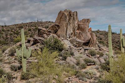 Photograph - Desert Rock Formation by Teresa Wilson