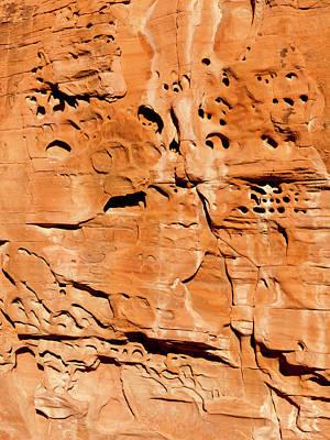 Desert Rock Print by Rae Tucker