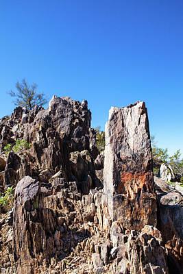 Photograph - Desert Rocks by Ed Cilley