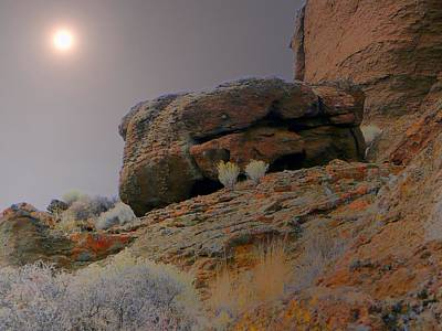 Landscape Photograph - Desert Rocks by Lori Seaman