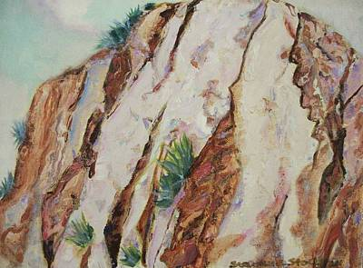 Desert Rocks Art Print by Suzanne  Marie Leclair
