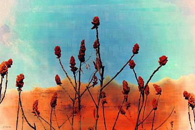 Digital Art - Desert Roses by Shawna Rowe