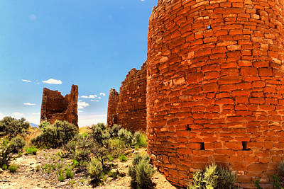 Photograph - Desert Ruins Hovenweep by Jeff Swan