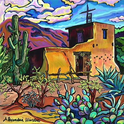 Painting - Desert Sanctuary by Alexandria Winslow