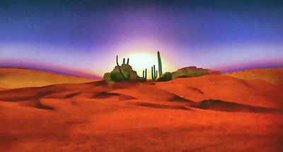 Painting - Desert Sands by Valerie Anne Kelly