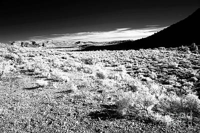 Photograph - Desert Shadows In Infrared by John Rizzuto