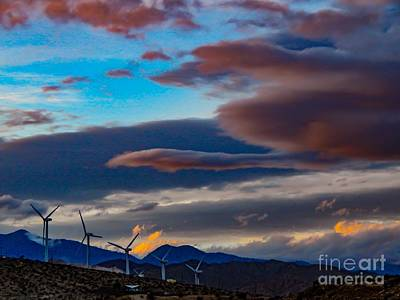 Photograph - Desert Sky by Chris Tarpening