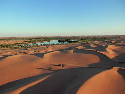 Photograph - Desert Sky Water by Pema Hou