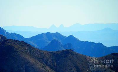 Photograph - Desert Skyline by L Cecka