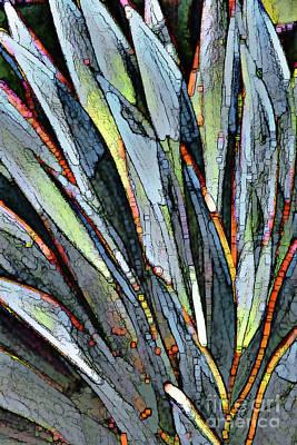 Desert Snake Plant Art Print by Linda Parker