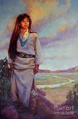 Painting - Desert Song by Jean Hildebrant