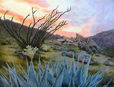 Painting - Desert Spirits by Andrew Danielsen