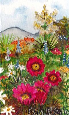 Painting - Desert Spring by Eric Samuelson