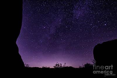 Desert Starscape Art Print