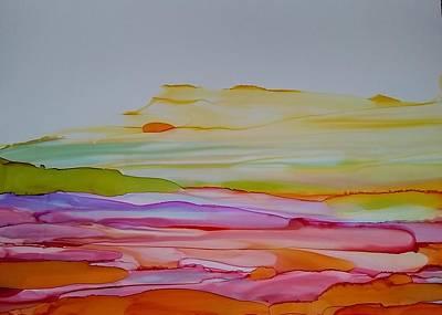 Desert Steppe Art Print