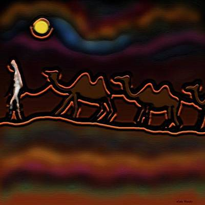 Digital Art - Desert Stories by Latha Gokuldas Panicker